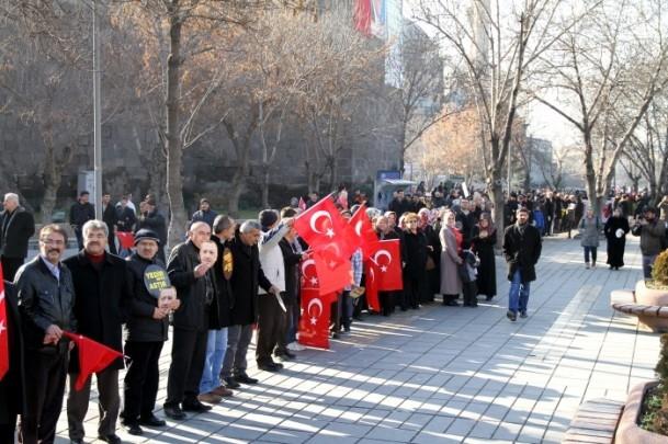 Kayseri'den Başbakan Erdoğan'a destek 10