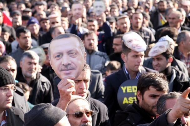 Kayseri'den Başbakan Erdoğan'a destek 11