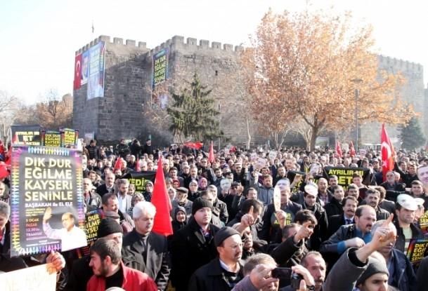 Kayseri'den Başbakan Erdoğan'a destek 12