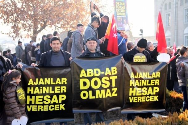 Kayseri'den Başbakan Erdoğan'a destek 4