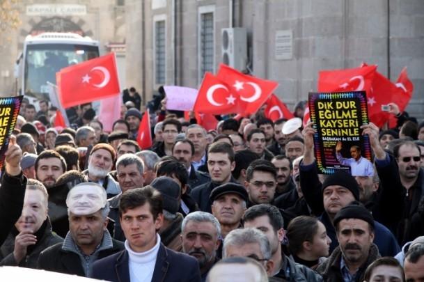 Kayseri'den Başbakan Erdoğan'a destek 6