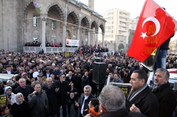 Kayseri'den Başbakan Erdoğan'a destek 7