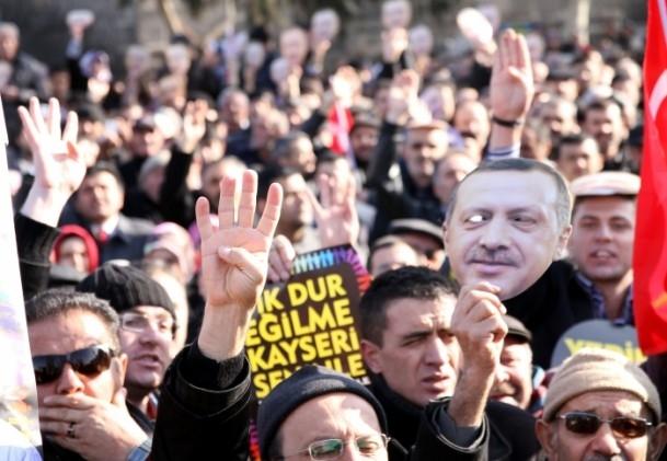 Kayseri'den Başbakan Erdoğan'a destek 8