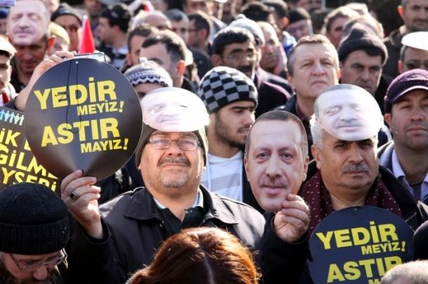 Kayseri'den Başbakan Erdoğan'a destek 9