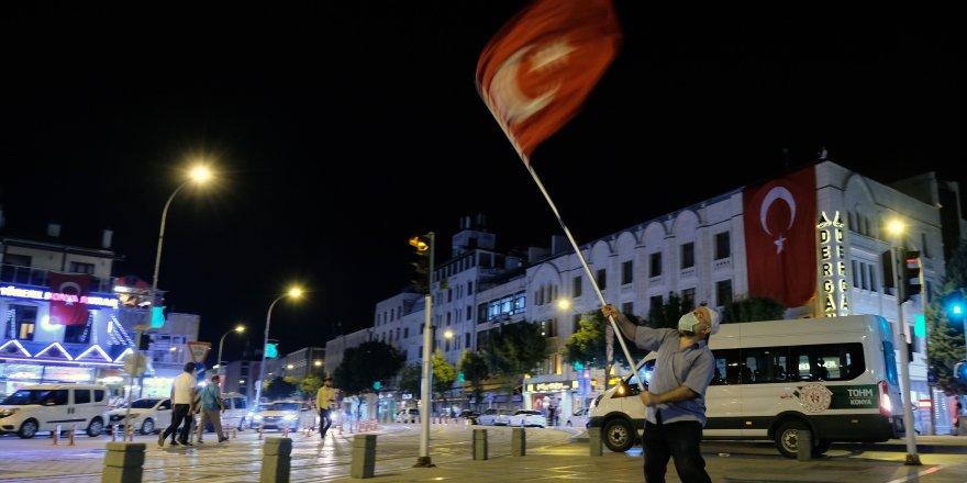 Konya'da 15 Temmuz'u anma etkinlikleri düzenlendi
