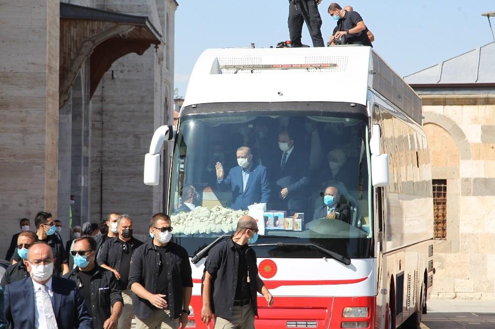 Cumhurbaşkanı Erdoğan, Konya'da 1