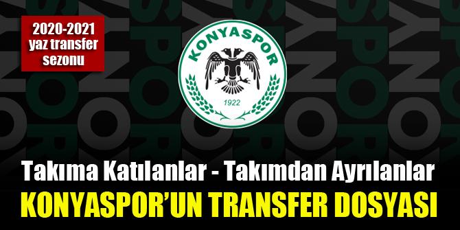 Konyaspor transfer dosyası (2020-2021 yaz sezonu) 1