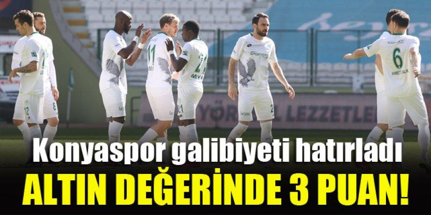 Konyaspor'dan altın değerinde 3 puan!