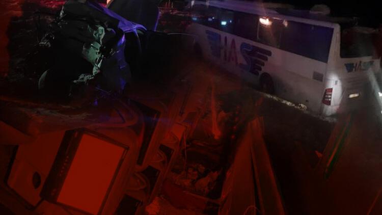 Konya'da korkunç kaza! Yolcu otobüsü şarampole devrildi... 5 ölü, 38 yaralı 1