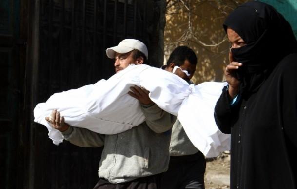 """Mısır'da """"kimliksiz"""" kurbanlar toprağa verildi 4"""