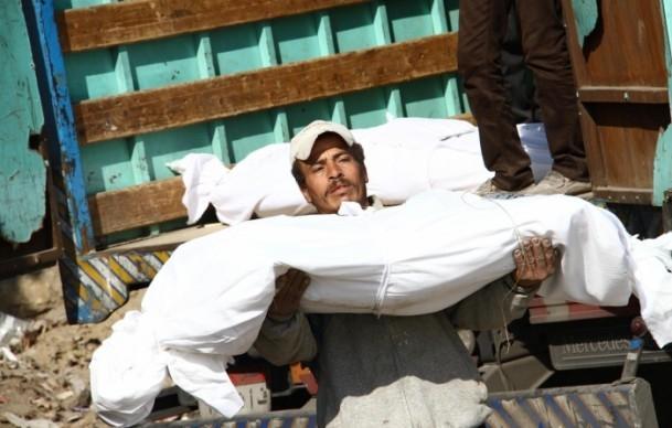 """Mısır'da """"kimliksiz"""" kurbanlar toprağa verildi 7"""