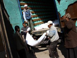 """Mısır'da """"kimliksiz"""" kurbanlar toprağa verildi"""