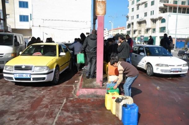 Gazze'deki akaryakıt krizi büyüyor 8