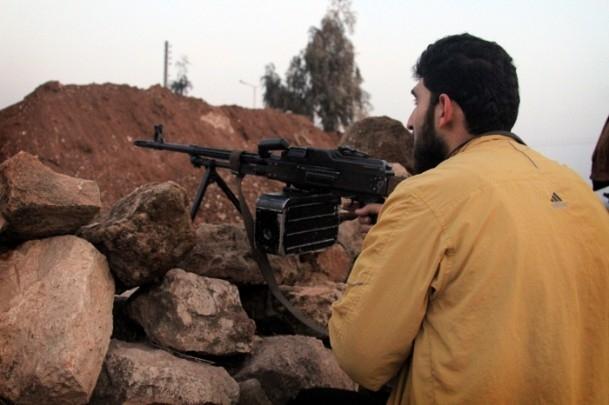 Suriye'de kuzeydeki IŞİD'le çatışmalar 4