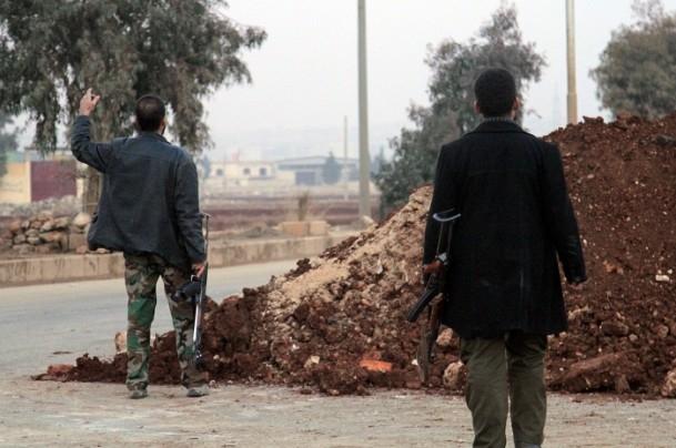 Suriye'de kuzeydeki IŞİD'le çatışmalar 5