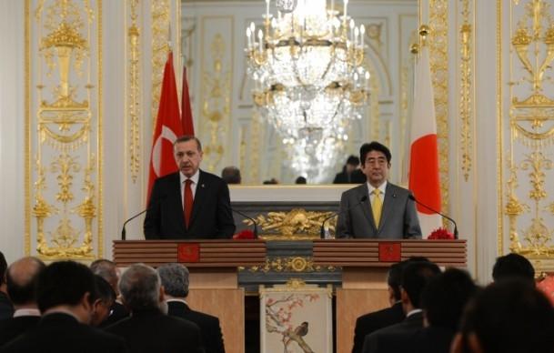 Başbakan Erdoğan Japonya'da 1
