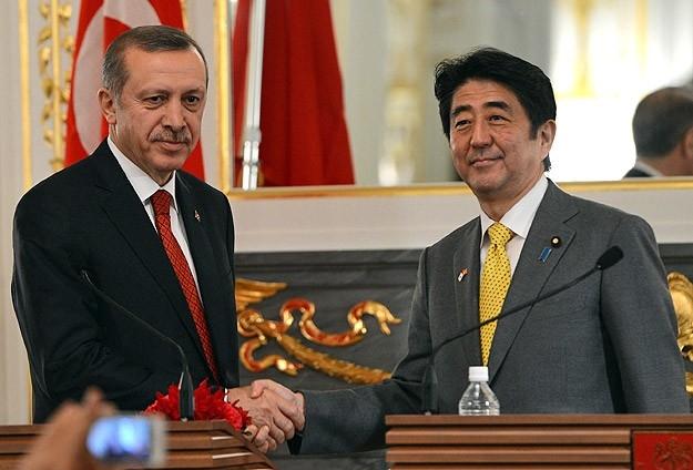 Başbakan Erdoğan Japonya'da 11