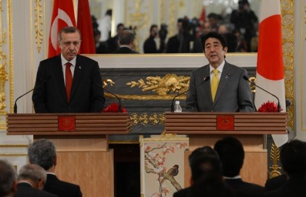 Başbakan Erdoğan Japonya'da 2