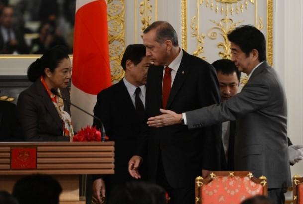 Başbakan Erdoğan Japonya'da 3