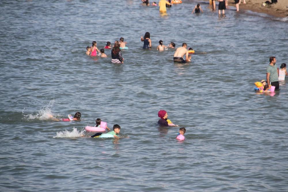 Burası ne Antalya ne de Muğla! Konya'nın plajına yoğun ilgi 10