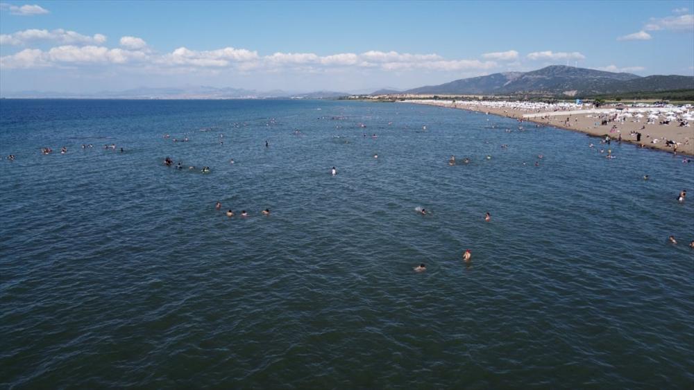 Burası ne Antalya ne de Muğla! Konya'nın plajına yoğun ilgi 13