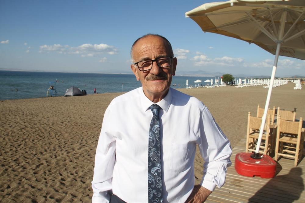 Burası ne Antalya ne de Muğla! Konya'nın plajına yoğun ilgi 6