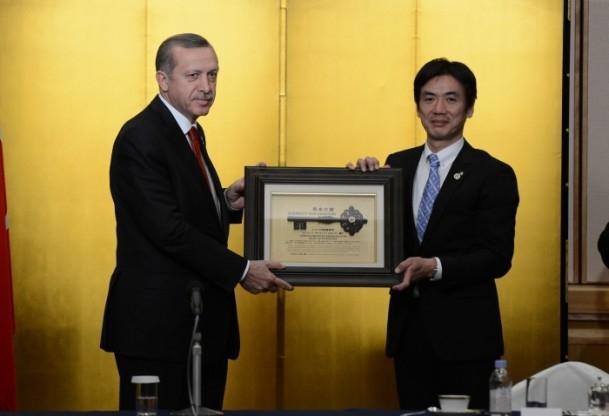 Başbakan Erdoğan Japonya'da askeri törenle karşılandı 14