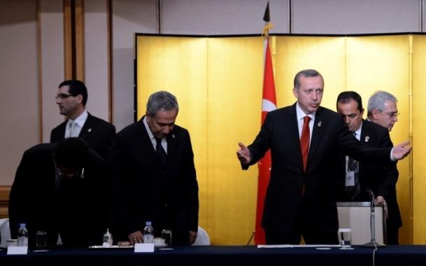 Başbakan Erdoğan Japonya'da askeri törenle karşılandı 17