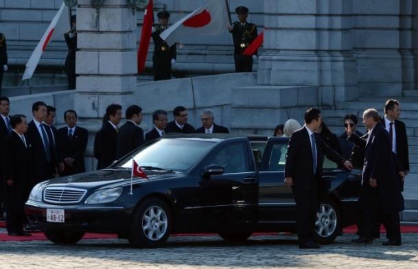 Başbakan Erdoğan Japonya'da askeri törenle karşılandı 3