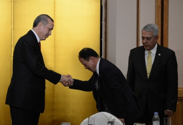 Başbakan Erdoğan Japonya'da askeri törenle karşılandı 8