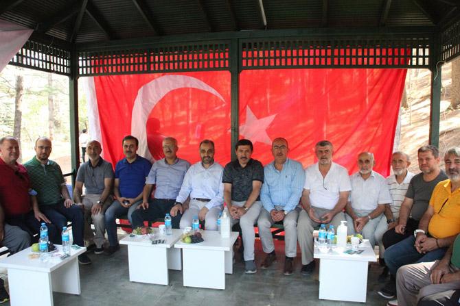 MÜSİAD Konya üyeleri geleneksel piknikte bir araya geldi 1