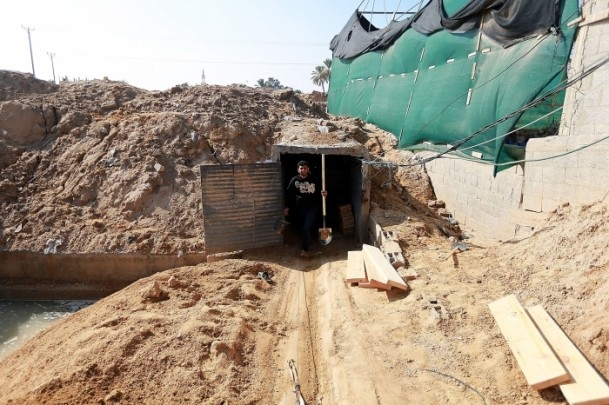 Mısır'ın tahrip ettiği Gazze tünelleri 1