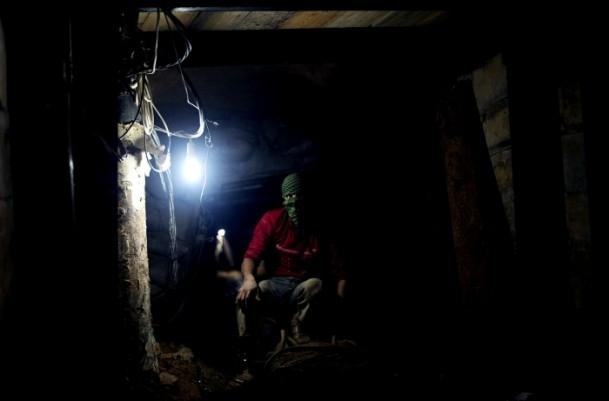 Mısır'ın tahrip ettiği Gazze tünelleri 4