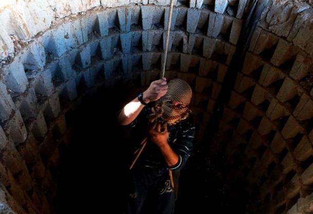 Mısır'ın tahrip ettiği Gazze tünelleri 6