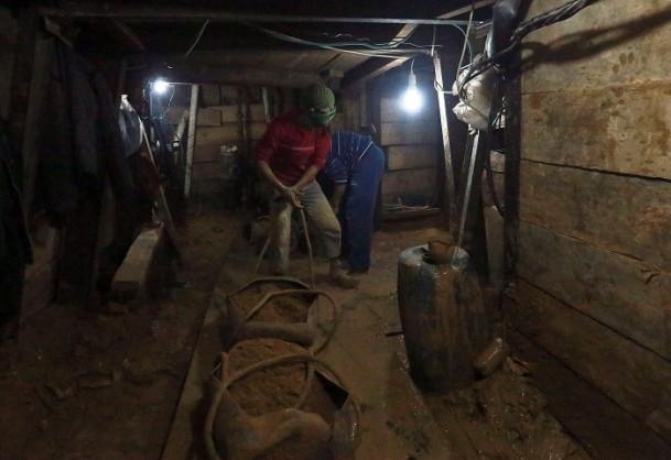 Mısır'ın tahrip ettiği Gazze tünelleri 9