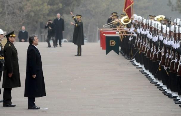 Cumhurbaşkanı Gül Kara Harp Okulu'nu ziyaret etti 18