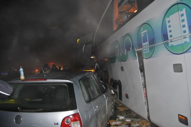 Kulu Makası'nda zincirleme trafik kazası 6