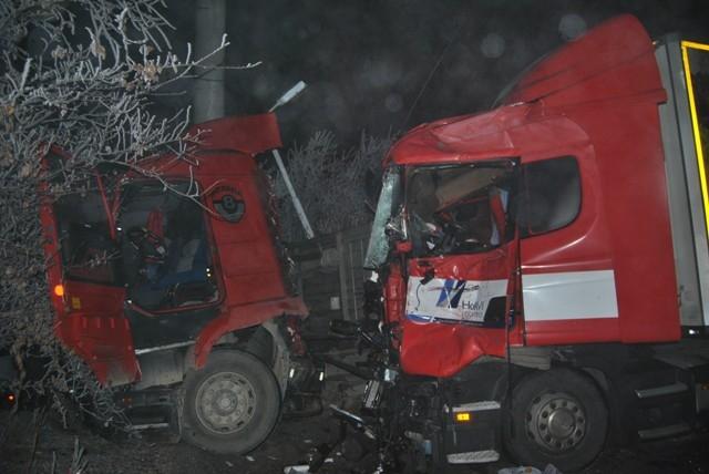 Kulu Makası'nda zincirleme trafik kazası 8