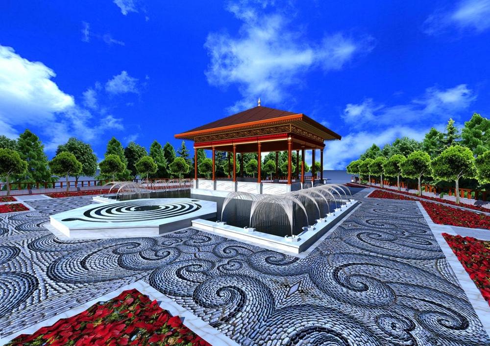 Ecdad Parkı'nın yapımına başlandı 2