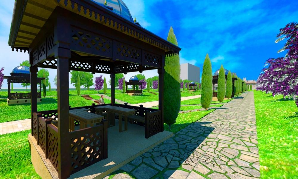 Ecdad Parkı'nın yapımına başlandı 3