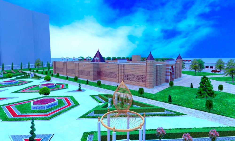 Ecdad Parkı'nın yapımına başlandı 4