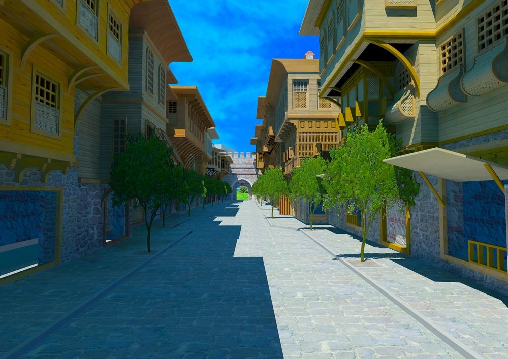 Ecdad Parkı'nın yapımına başlandı 5
