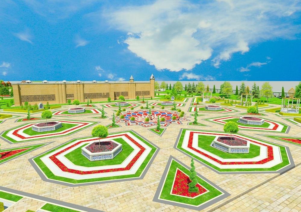 Ecdad Parkı'nın yapımına başlandı 6