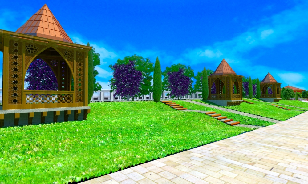 Ecdad Parkı'nın yapımına başlandı 7