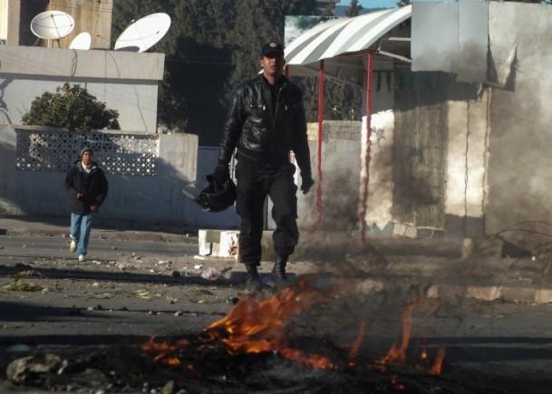 Tunus'ta vergi protestosu 2