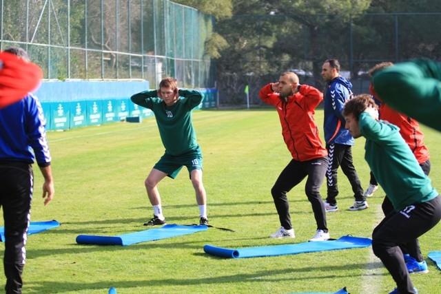 Torku Konyaspor'un devre arası kampı 1
