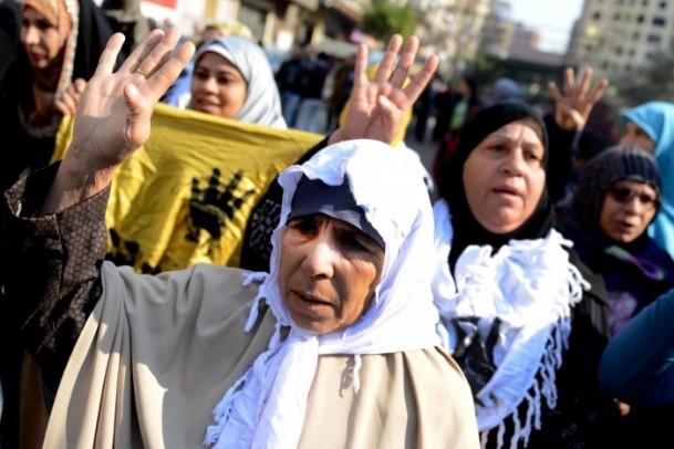 """Mısır'da """"Kanlı Referandumun İptali"""" gösterileri 3"""