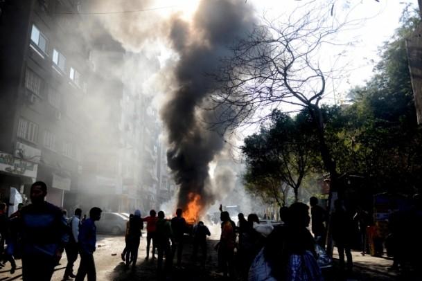 """Mısır'da """"Kanlı Referandumun İptali"""" gösterileri 4"""