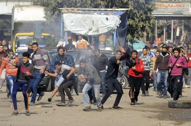 """Mısır'da """"Kanlı Referandumun İptali"""" gösterileri 9"""