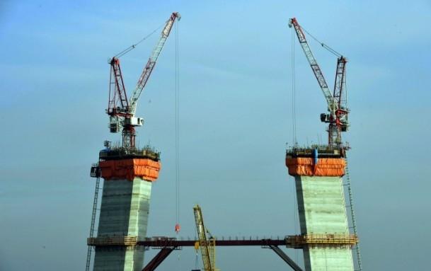 3. Boğaz Köprüsü'nde yolun yarısı geçildi 1